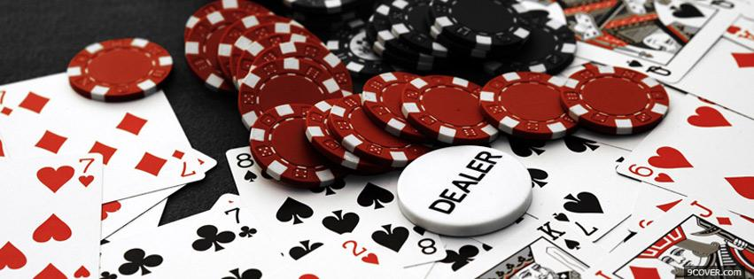 Photo Poker And Poker Facebook Cover for Free
