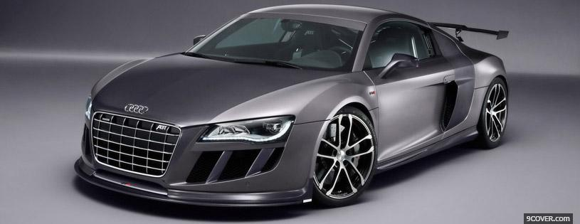 Photo Abt Audi R8 Gtr Facebook Cover for Free