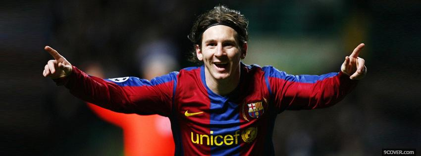 Photo Lionel Messi  Facebook Cover for Free