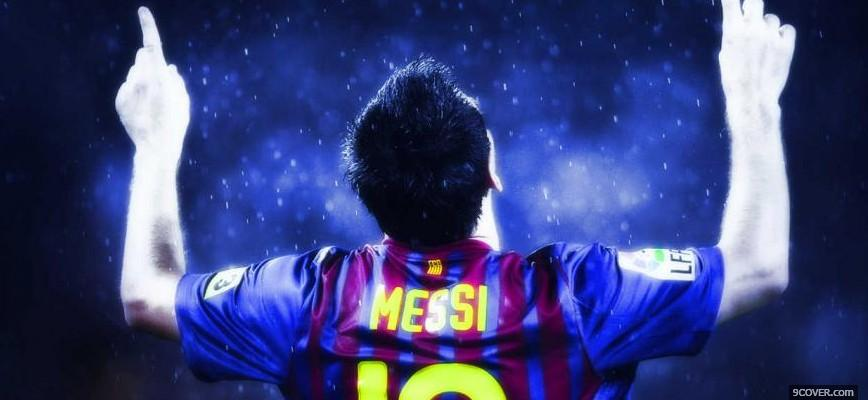 Photo Messi Facebook Cover For Free