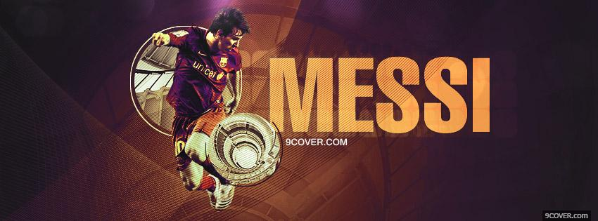Photo Messi Timeline Facebook Cover for Free