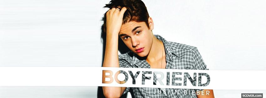 Photo Justin Bieber Facebook Cover for Free