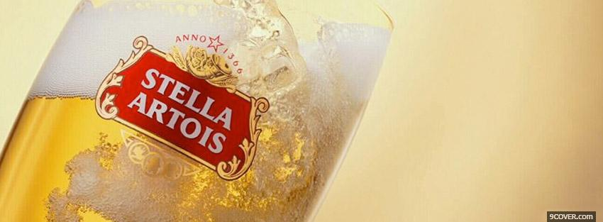 Photo Stella Artois Facebook Cover for Free