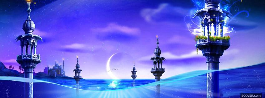 Photo Beautiful Islamic Facebook Cover for Free