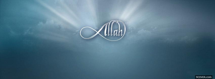 Photo Allah Islamic Facebook Cover for Free