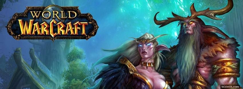 Photo World Of Warcraft WOW Facebook Cover for Free