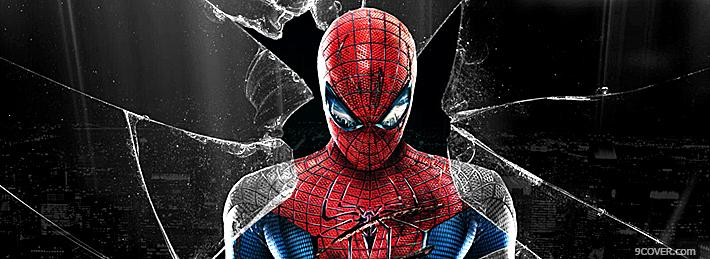 Photo Spider-Man 3 Facebook Cover for Free