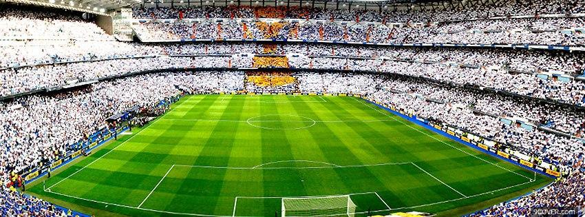 Photo Football Stade Facebook Cover for Free