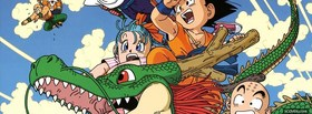 free manga dragon ball z with dragon facebook cover