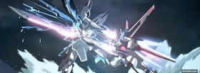 free anime gundam facebook cover