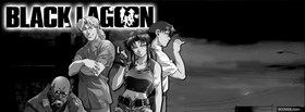 free black and white black lagoon facebook cover