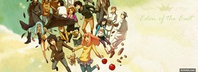 free eden of the east in the clouds facebook cover