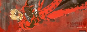 free vash the stampede facebook cover