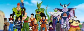 free manga dragon ball z crew facebook cover