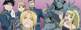 free manga fma brotherhood facebook cover