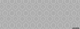 classic black and white pattern facebook cover