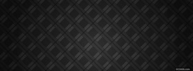 black diamond pattern facebook cover