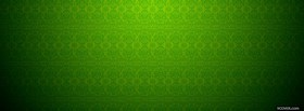 free pop of green pattern facebook cover