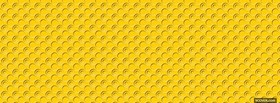 free yellow little circles abstract facebook cover
