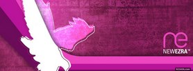 free pink newezra abstract facebook cover