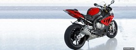 bmw s100rr red moto facebook cover
