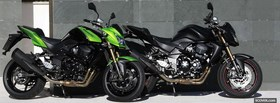 two kawasaki moto facebook cover