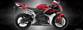 red honda cbr 2007 facebook cover