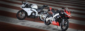 two aprilia 2012 motos facebook cover