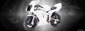 white honda nsr50 moto facebook cover