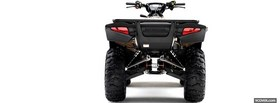 back of honda quad facebook cover