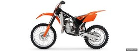 orange ktm moto facebook cover