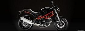 2007 ducati monster moto facebook cover
