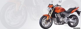 hornet honda orange moto facebook cover
