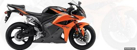 honda orange moto facebook cover