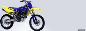 blue yellow husqvarna moto facebook cover