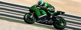 green kawasaki motogp facebook cover