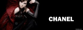fashion sultry woman chanel facebook cover