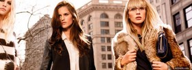 dkny fall 2011 campaign facebook cover