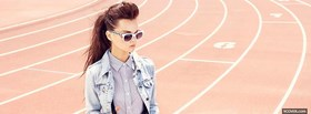 fashion put together girl with glasses facebook cover