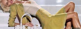 louis vuitton with eva herzigova facebook cover