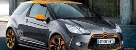 citroen ds3 car facebook cover