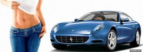 hot body and ferrari facebook cover