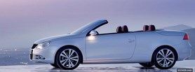 2013 volkswagen eos convertible car facebook cover