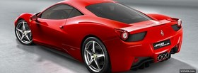 ferrari 458 italia car facebook cover