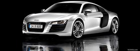 nice audi r8 car facebook cover