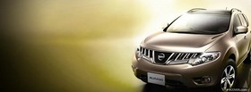nissan murano car facebook cover