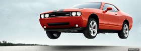 2009 dodge challenger car facebook cover