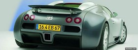 back bugatti veyron facebook cover