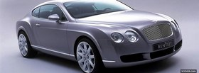 black bentley continental car facebook cover