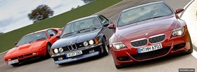 3 bmw m6 cars facebook cover